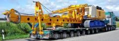 Transportation of large-size equipmen