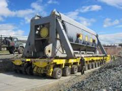 Transportation of the industrial equipmen