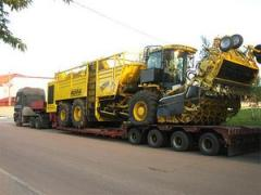 Transportation of road equipmen