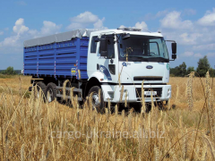 Transportation of grain crops