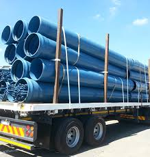 Cargo transportation of pipes