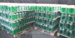 Transportation of glassware on pallets