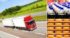 Transportation of construction materials on