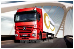 Automobile international transport from France