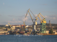 Cargo delivery from seaports across the territory