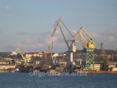 Доставка грузов из морских портов по...