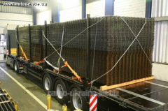 Fastening of a load on avtogranspor