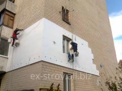 Утепление фасадов, утеплители для дома, утепление фасада минватой, услуги по утеплению фасадов в Харькове