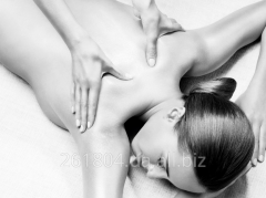 Musculostructural massage of a body