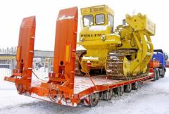 Transportation of special equipmen