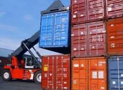 Service of cargo container terminals