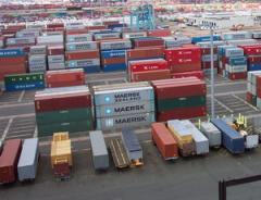 Услуга грузовых терминалов внутренних