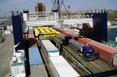 Transportation of passengers ferry