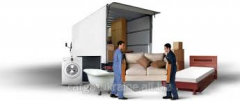 Service in transportation of furniture