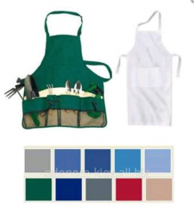 Tailoring of aprons and aprons