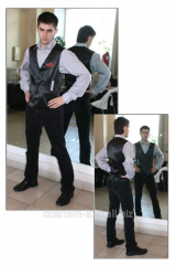 Tailoring of a uniform for waiters and bartenders