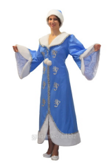 Fantastic suit of the Snow Maiden for ren