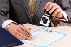 Re-registration of the turnkey enterprises