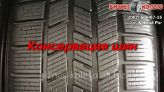Preservation and storage of tires