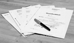 Service of registration of shipping documents