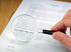 Legal analysis of contracts