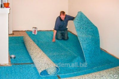 Laying of a carpet tile