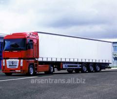 International transportation of goods by