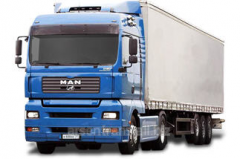 Transportation of goods by motor transport to