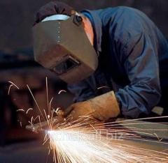 Welding works in Khmelnytskyi