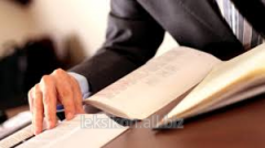 Service of legal advisers in the field of