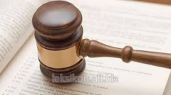 Service of providing with legal information