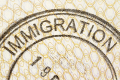 Registration of permission to immigration