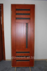 Doors wooden, repair work, installation and repair