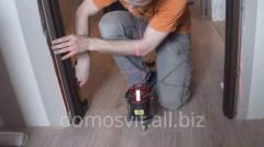 Doors wooden, installation and production of doors