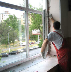 Metalplastic windows from the producer,