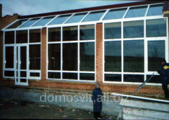 Production and installation of glass designs for
