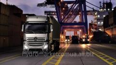 Installation of hydraulics on Mercedes