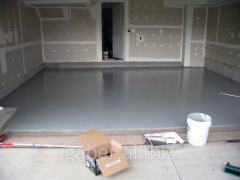 Filling by foam concrete