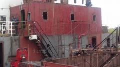 Изготовление и ремонт металлоконструкций надстроек и рубок