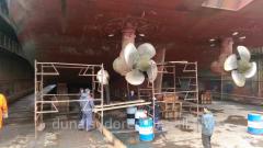 Ремонт винто-рулевого комплекса и ремонт донно-забортной арматуры