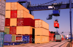Container transportation of goods