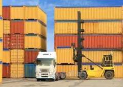 Services of cargo container terminals