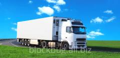 Transportation of perishable freights
