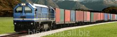 Freight transportation railway transpor