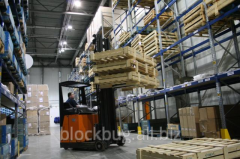 Services of customs and license warehouses