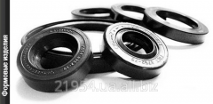 Production of shaped rubber products on the