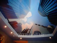 Потолки натяжные - дизайн и монтаж