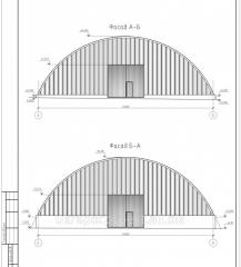 Проектирование ангаров, складов из легких металлоконструкций