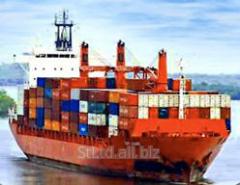 International transport by sea transpor