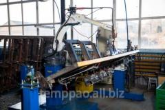 The mechanized arc welding